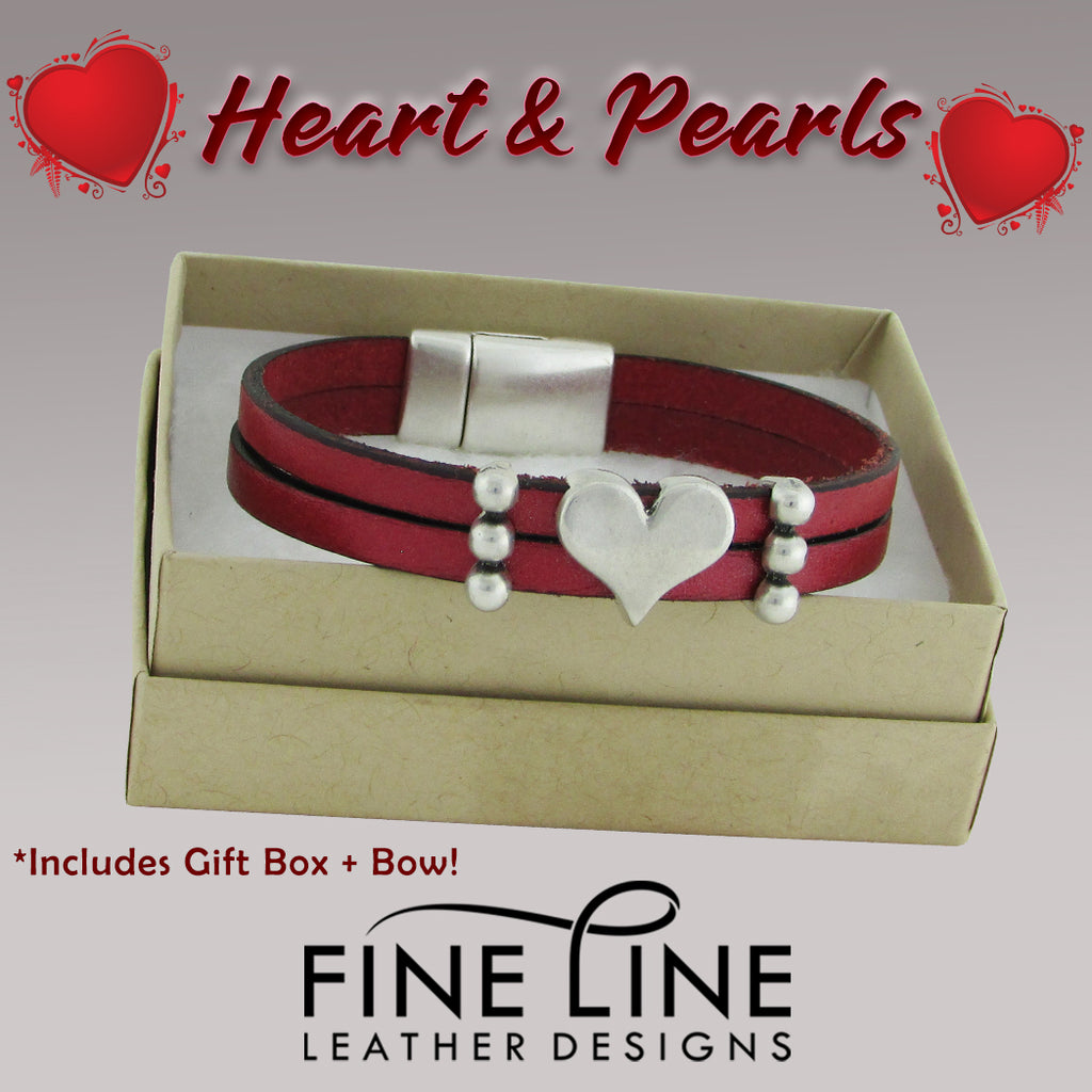 Hearts And Pearls Valentines Day Gift