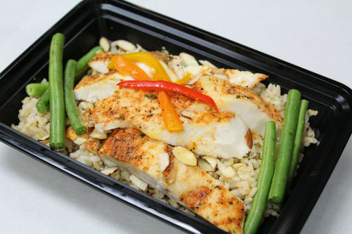 Baked White Fish
