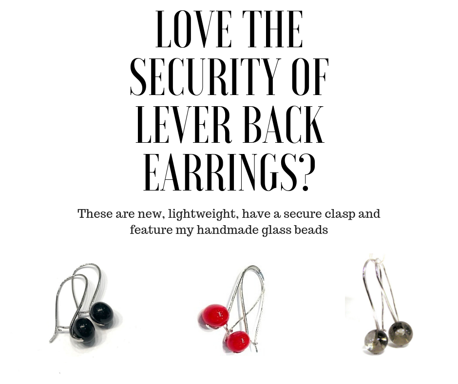 By Popular Demand: Glass Beaded Lever Back Earrings