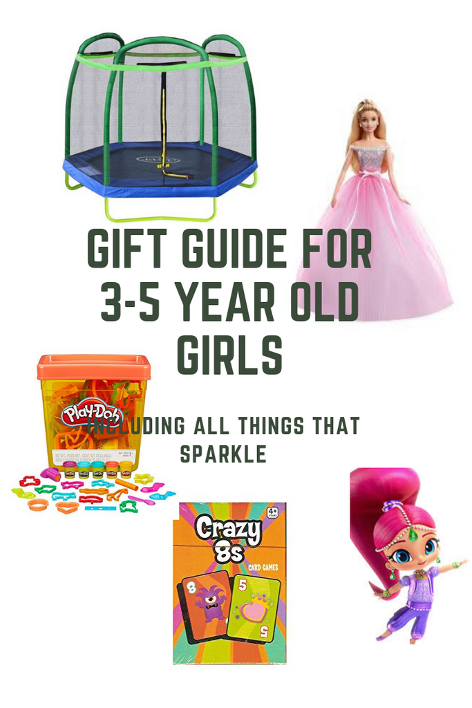 Gift Guide For 3-5 Year Old Girls
