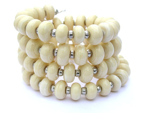 cream wrap bracelet for women