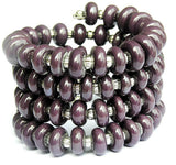 dark purple wrap bracelet for girls