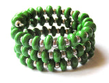 Kelly Green Wrap Bracelet