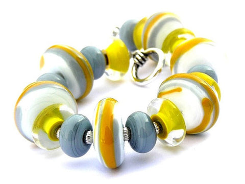 Mustard Yellow Bracelet For Women