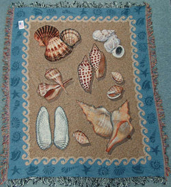 Seashell Throw shell blanket