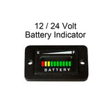 12V / 24V Battery Charge Indicator Meter - Automotive Authority