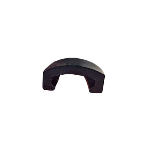 "1"" Black RV Marine Camper Thick Vinyl Trim Molding Flexible Screw Cap Cover - Automotive Authority"