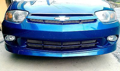 2003-2005 Chevy Cavalier Chrome Mesh Grille Insert Kit - Automotive Authority