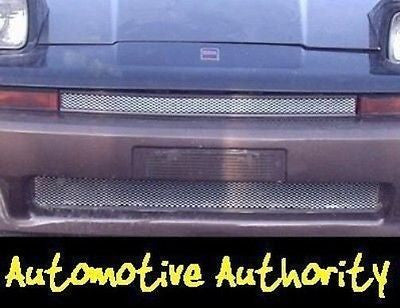 Chrome Mesh Grille Insert Kit For Toyota Supra 1986 1987 1988 - Automotive Authority