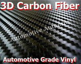 BLACK CARBON FIBER Vinyl Wrap Film - Pro Grade w/ AIR RELEASE - Choose Your Size - Automotive Authority