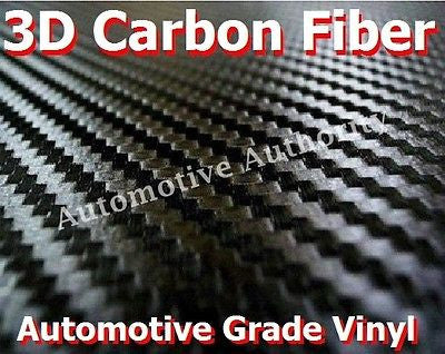 BLACK CARBON FIBER Vinyl Wrap Film - Automotive - Car Truck SUV - Automotive Authority