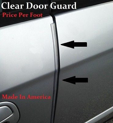 Bon CLEAR DOOR EDGE GUARD PROTECTOR TRIM MOLDING   SOLD BY THE FOOT   Price Per/