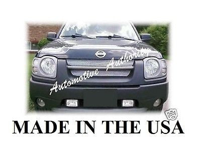 2002-2004 Nissan Xterra Chrome Mesh Grille Insert Kit - Automotive Authority
