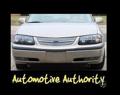 2000-2005 Chevy Impala Chrome Mesh Grille Insert Kit - Automotive Authority