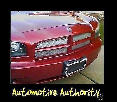 2005-2010 Dodge Charger Chrome Mesh Grille Insert Kit - Automotive Authority