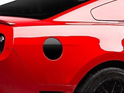 Gloss Black Vinyl Gas Door Vinyl Wrap - Automotive Authority