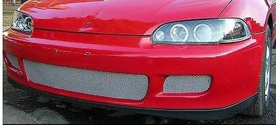 1992-1995 Honda Civic Chrome Mesh Grille Insert Kit - Automotive Authority
