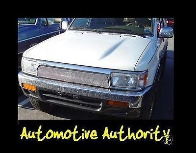 Chrome Mesh Grille Insert Kit For Toyota 4 Runner 1992 1993 1994 1995 - Automotive Authority