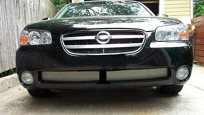 2002-2003 Nissan Maxima Chrome Mesh Grille Insert Kit - Automotive Authority