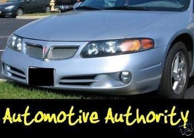 2000-2005 Pontiac Bonneville SE Chrome Mesh Grille Insert Kit - Automotive Authority