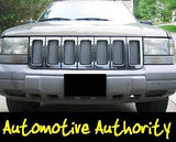 1996-1998 Jeep Grand Cherokee Chrome Mesh Grille Insert Kit - Automotive Authority