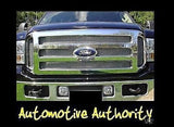2005-2007 Ford F-250 Chrome Mesh Grille Insert Kit - Automotive Authority