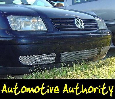 2000-2004 Volkswagen Jetta Chrome Mesh Grille Insert Kit - Automotive Authority
