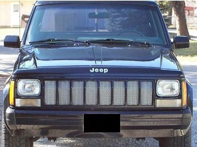 1997-2001 Jeep Cherokee Chrome Mesh Grille Insert Kit - Automotive Authority