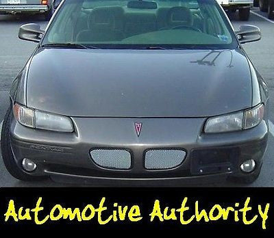 1997-2000 Pontiac Grand Prix SE Chrome Mesh Grille Insert Kit - Automotive Authority