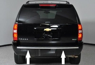 2007 2008 2009 2010 2011 2012 2013 2014 CHEVY TAHOE SUBURBAN CHROME REAR BUMPER TRIM MOLDING - Automotive Authority