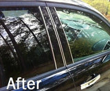 Universal Chrome Pillar Post Trim Roll - Fits All Models - Automotive Authority
