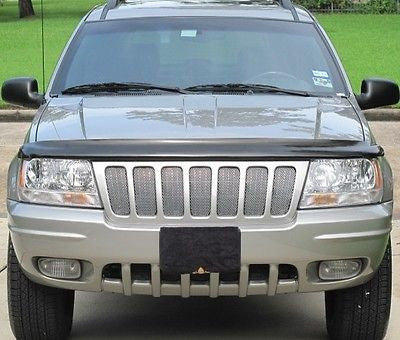 1999-2003 Jeep Grand Cherokee Chrome Mesh Grille Insert Kit - Automotive Authority