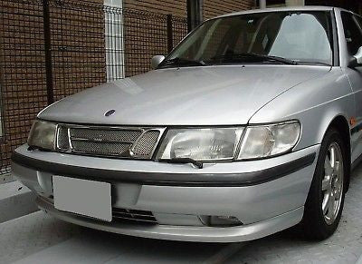 1993-1999 Saab 900 Chrome Mesh Grille Insert Kit - Automotive Authority