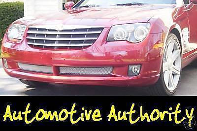 2004-2008 Chrysler Crossfire Chrome Mesh Grille Insert Kit - Automotive Authority