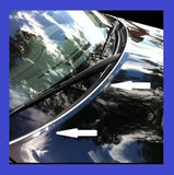 Universal Chrome Hood Trim Lip Edge Trim Molding - Fits all Models