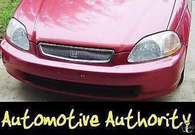 1996-1998 Honda Civic Chrome Mesh Grille Insert Kit - Automotive Authority