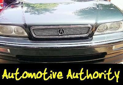 Chrome Mesh Grille Insert Kit For Acura Legend 1991 1992 1993 - Automotive Authority
