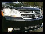 2007-2010 Dodge Avenger Chrome Mesh Grille Insert Kit - Automotive Authority