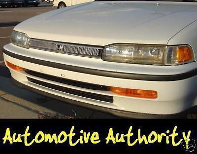 Chrome Mesh Grille Insert Kit For Honda Accord 1990-1991 - Automotive Authority