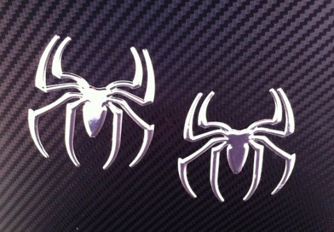 Spider Chrome Sticker Decals - Automotive Authority