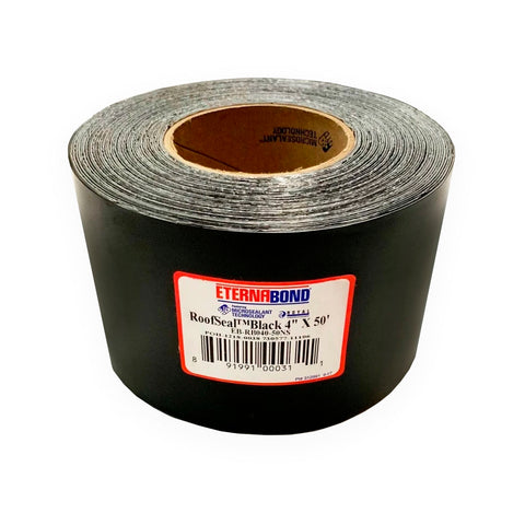 "4"" BLACK Eternabond Roof Leak Repair Tape Patch Seal - Automotive Authority"