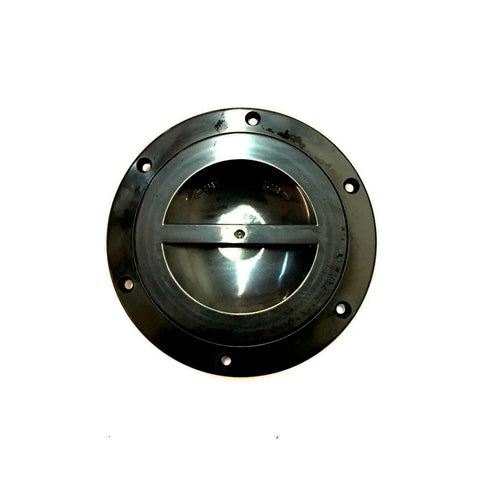 "4"" Black Round Access Hatch Cover for RV Marine Boat Camper - Valterra - Automotive Authority"