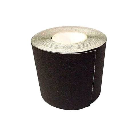 "6"" BLACK Roll Safety Non Skid Tape Anti Slip Tape Sticker Grip Grit - Automotive Authority"