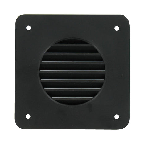 "Battery Box Louver Cover Plate BLACK - RVs Camper Trailer Motorhome Repair 4.25"" - Automotive Authority"