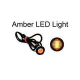 "Amber 1"" LED Clearance Marker Trailer Marker Signal Light - Yellow - Automotive Authority"
