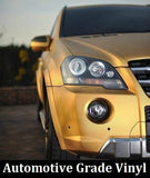 GOLD CARBON FIBER Vinyl Wrap Film - Pro Grade w/ AIR RELEASE - Choose Your Size - Automotive Authority