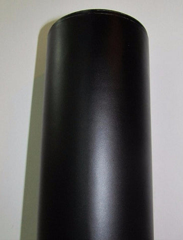 MATTE BLACK Vinyl Wrap Film - Pro Grade w/ AIR RELEASE - Choose Your Size - Automotive Authority