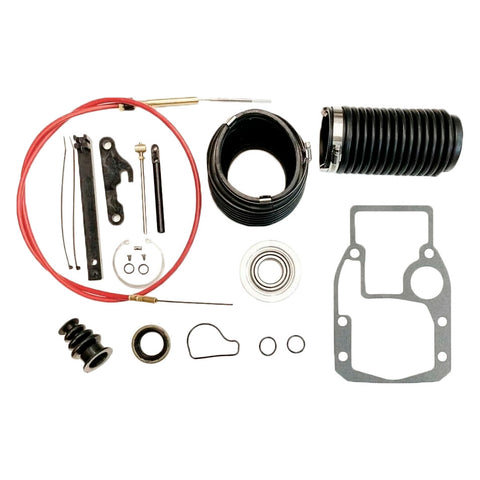 Transom Bellow Shift Cable Kit, Snap Ring + Tool For OMC Cobra 18-2771, 3854270 - Automotive Authority
