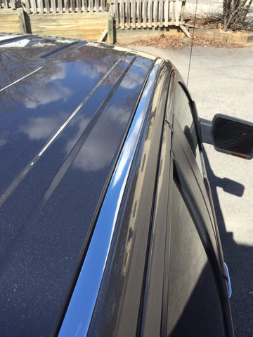 2009-2014 Ford F150 Chrome Roof Top Trim Molding Kit - Automotive Authority