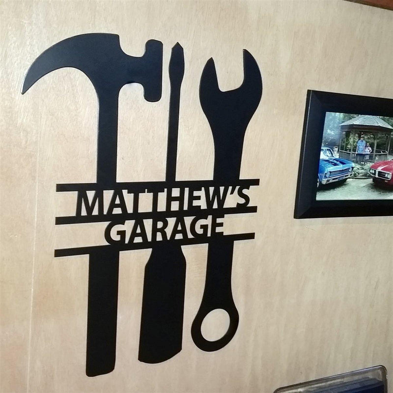 The Garage Sign - Metal Unlimited